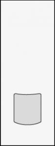 sac papier sos 13 + 7 x 35 cm
